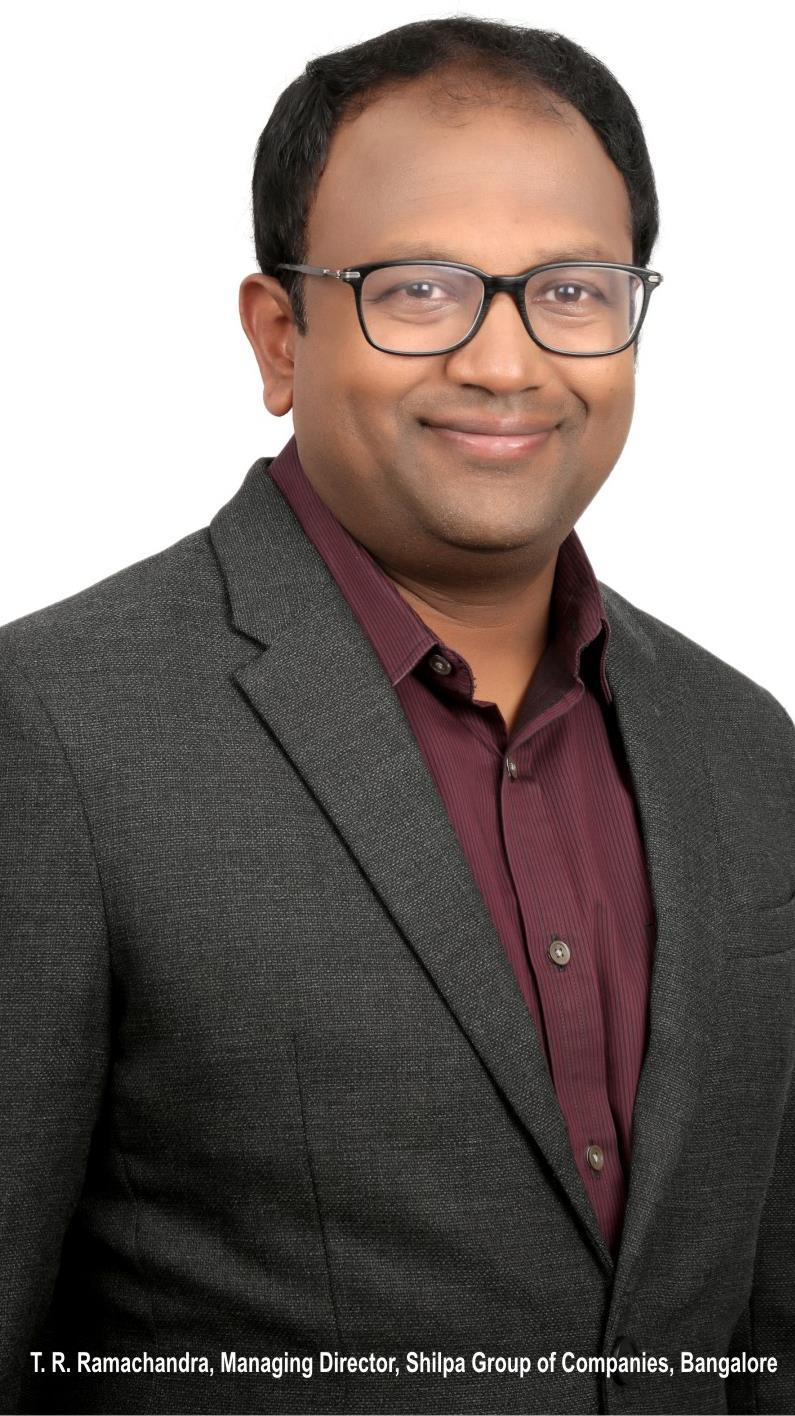 T.R Ramachandra, Managing Director,Shilpa Group of Companies,Bangalore